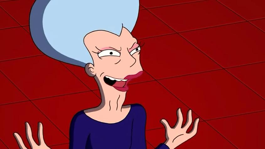 Мамочка - злобный, меркантильный и очень богатый персонаж сериала