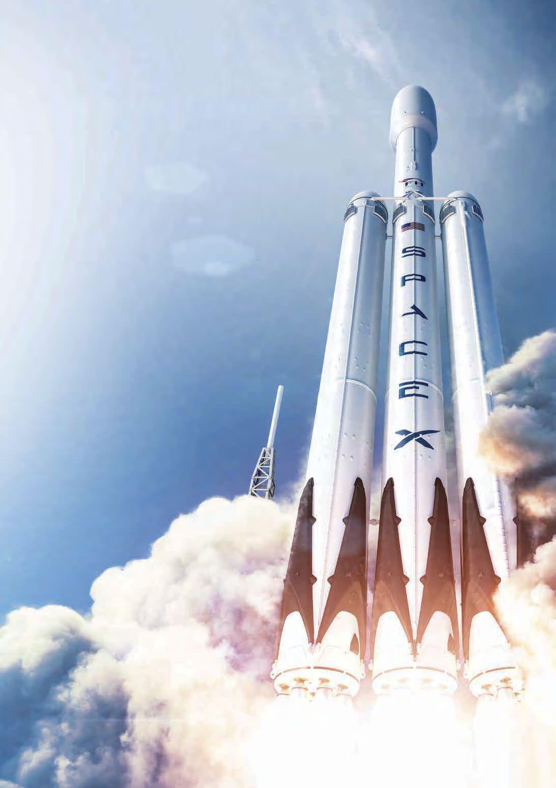 На сегодняшний день Falcon Heavy – самая мощная и самая грузоподъемная ракета в мире