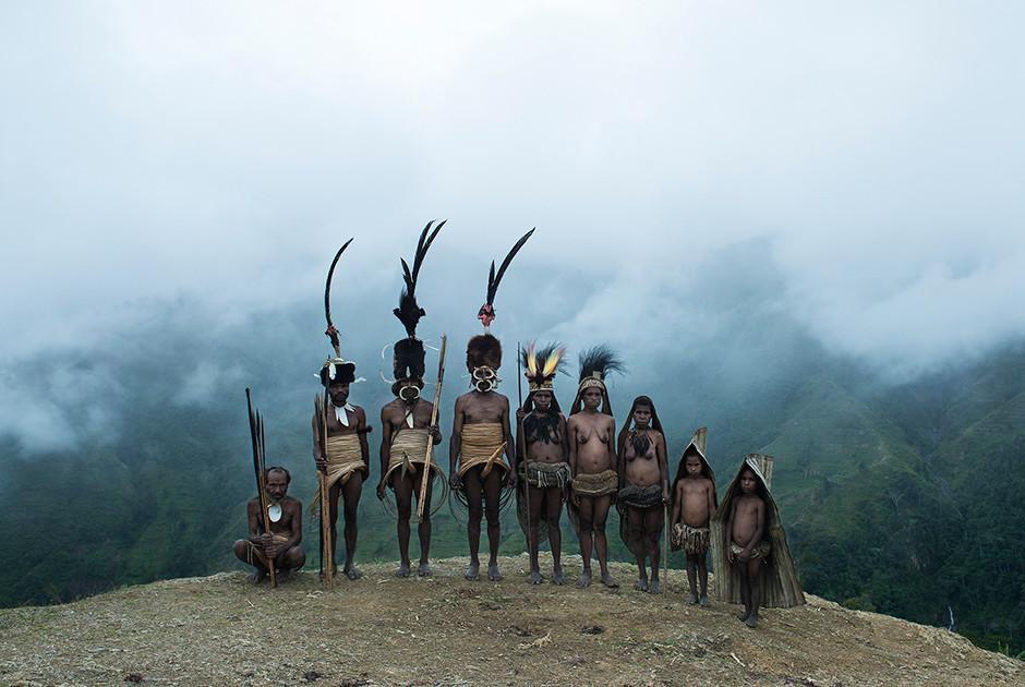 Некоторые племена живут не в джунглях, а на склонах Анд