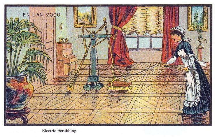 О роботах-помощниках мечтали даже женщины в прошлые времена