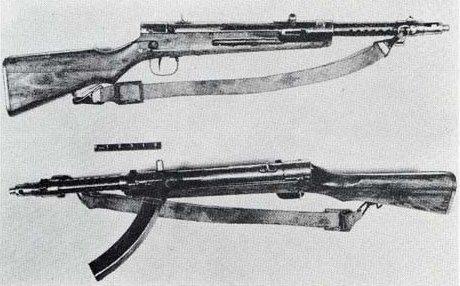 Однако даже этот автомат был не стопроцентно японским. Оружейники фирмы «Намбу» использовали в качестве основы швейцарский SIG Bergman 1920. Но «Бергман 1920» тоже был лицензионной копией германского ПП MP-18